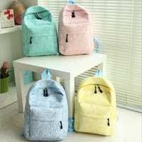 2014 new fashion trend lace shoulder bag Korean version of high-quality travel bag shoulder bag schoolbag