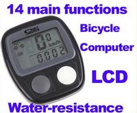 Bicycle stopwatch Riding code table waterproof stopwatch bike computer Bicycle Computer Odometer Speedometer SW05