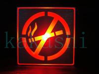 No Smoking sign/LED with RED light logo sign/male locker room indicator AC85V-240V for Xmas and Hallowmas