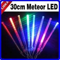 30cm Tube Colorful Tubes LED Meteor Shower Rain Light String Outdoor Fairy Christmas Decorative Lights for New Year HK C-27