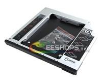 for Dell E6420 E6500 E6530 E6330 E6320 Notebook Second Hard Drive Enclosure CD DVD Optical Bay 2nd SSD HDD Caddy Free Shipping