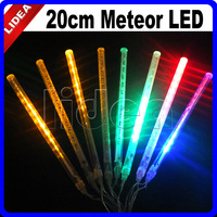 20cm Tube New Year Garland Colorful Tubes LED Meteor Shower Rain Light String Outdoor Decorative Christmas Fairy Lights CN C-26