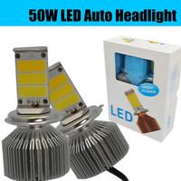 2014 New 50W LED conversion kit H1 H3 H7 H8 H9 H10 H11 9005/HB3 9006/HB4 5202 H16 LED Auto headlight EPISTAR LED FOG LAMP BULB