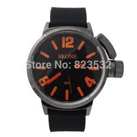 SKONE Fashion students running watch,sport girls boys luxury dress Wristwatch,quartz pu silicone watches,female clock gift