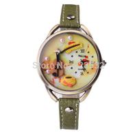 Fashion lady watch,sport casual girls luxury dress genuine LEATHER quartz oversize ms diamond pearl Wristwatch Christmas gift