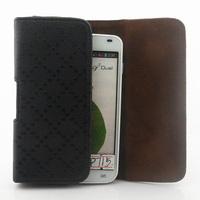Luxury Retro Plaid Universal Belt Clip Leather case for LG Optimus L7II P715 P710 Free shipping 04