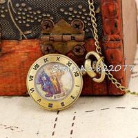 Necklace Pendant Clock Pocket Watch Quartz Analog Small Necklace Women Mini Gifts High Quality Dropship
