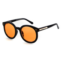 2014 New Fashion Sun Glasses For Women Designer Hipster Circle Retro Vintage Plastic Lenses Oculos Gafas De Sol Mujer Sunglasses