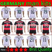 2014 World Cup germany kits 4 stars Champions Patch 13 SCHWEINSTEIGER soccer jerseys Germany SCHWEINSTEIGER's jersey kits