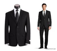 (85%Wool+15%Polyester)Top Quality Men's Suit Sets(Top+Pants)Slim Business Suit Spring Summer Autumn Wedding Dress Plus Size Sale