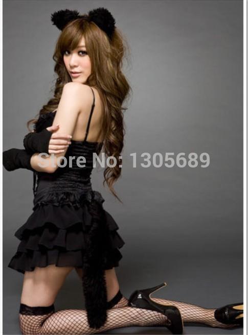 Halloween Costume Black Vest Costume Vest Skirt Black