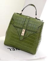 2014 New Arrival Lady Shoulder Bag Fashion Crocodile Design Good Sale XBG052