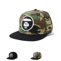 2014 New Fashion Camouflage Snapback Sample Words Baseball Cap Women & Men Hip Hop Hat High Quality