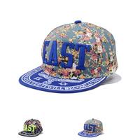 2014 Cheap Brand New Adjustable Hip Hop Sport Baseball Snapbacks Caps EAST Letter Floral Print Snap Back Hats Summer Sun HAT
