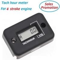 For 4 stroke engine IP68 waterproof tachometer Hour Meter Motorcycle Dirt Marine ATV  KTM  Kawasaki Suz