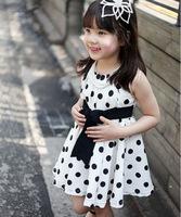 2014 Real Peppa Vestido Infantil Meninas Vestir The New Kids Children Dress Girl Summer Wave Little Princess S Wholesale Sales.