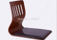 TA52-1  Japanese design furniture  living room chair fabric cushions  coffee color Japanese floor kotatsu chair