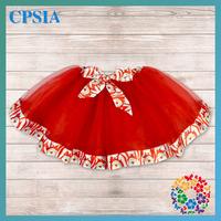 48PCS/LOT EMS Free 2014 Fashion School Skirts Santa Claus Lined 3 layers Tutus For Beautiful Girls