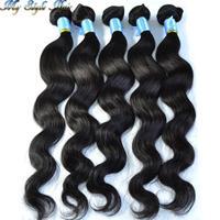 malaysian virgin body wave hair extensions ,100% virgin wavy hair 1pcs lot ,unprocessed human hair weaves,Queen hair products