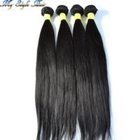rosa hair products 100% Unprocessed peruvian hair weave peruvian straight hair 4 bundles lot peruvian 4pcs virgin straight hair