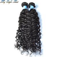 queen hair bundles virgin malaysian hair weave 4A Afro Kinky curly hair mix length 2pcs lot 10-30inch,Unprocessed human hair
