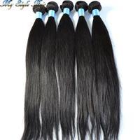 Queen Hair Products 4pcs lot,100g/bundles Grade 4A Unprocessed Virgin Malaysian hair Weave Cheap Malaysian Virgin Straight Hair