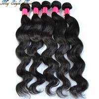 """Queen hair products:queen brazilian virgin hair extensions human hair weft more body wave 1pcs/lot 10""""-36"""" unprocessed hair"""