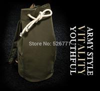 free shipping 2014 new Drawstring Backpack Gym Bag men's backpack Canvas leisure bucket package Travel Handbag Cinch Sack Tote
