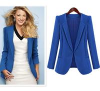 D22 New Women Autumn plus size S-XL Cotton Blends stylish comfortable jacket coat Blazers Female Slim Small Suit outwear jacket