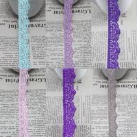 20 yards/lot 16/17mm width Elastic Stretch Lace trim DIY headband sewing garment accessories