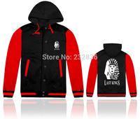 Brand last kings jackets cotton hooded long sleeve hip hop mens winter casual clothing fashion sportswear men Outerwear & Coats
