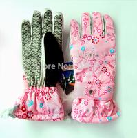 Jiesen jassen Women outdoor cold-proof waterproof ski gloves waterproof