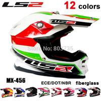 Authentic Ls2 MX456 Motocross Helmet Moto MX Helmets Motorcycle Racing Capacete Casco Parts Dakar Rally Champion Free Shipping