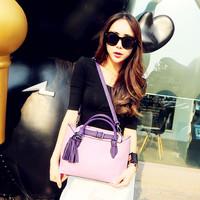 Cat bag fashionable casual fashion color block women's handbag tassel handbag messenger bag m16-098