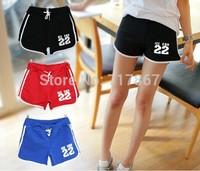 2014 Hot-selling Free Shipping shorts Hot Women Casual Sports Female Shorts Beach Shorts, NO.22 Many color choose