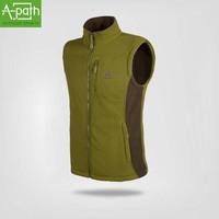 2014 new outdoor hiking jacket winter waistcoat vest sport men fleece sleeveless jacket coat gilet colete casual vest waistcoats