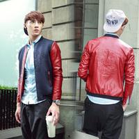 6089 | Milan Fashion catwalk models big / Space layer / fight skin embossed baseball clothing / down jacket / coat man