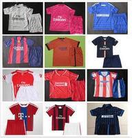 A+++ 100% Thailand Fan Version 14 15 Soccer Jersey Futbol Football Shirt Camisetas Kit Kids Jersey