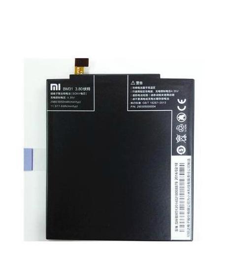 Батарея для мобильных телефонов 100% Xiaomi mi3 BM31 3050mAh original xiaomi ми 3 3050mah cellphone бэттери bm31 high capacity rechargeable бэттери pack 100