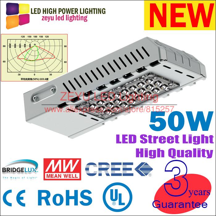 Free shipping Top quality 50W led street light 52w led outdoor light garden lights solar streetlight high power led street lamp(China (Mainland))
