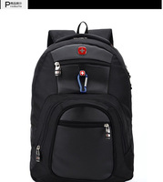 Wholesale 10 pieces/lot 2014 new men's Swissgear backpack,fashion nylon waterproof backpack for women and men.
