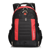 2014 new arrived men's fashion Swissgear backpack,nylon waterproof laptop backpack for women and men.