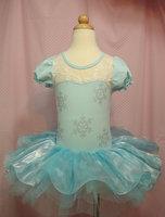 Romance Aisha ELSA spot snow princess dress girls Halloween Christmas snowflakes dance skirt dance skirt