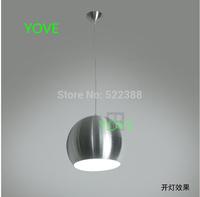 Modern Pendant Lights D28CM Abajur Aluminum Lustres E Pendentes Single Head Pendant Light Restaurant Led Lighting Vintage Lamp