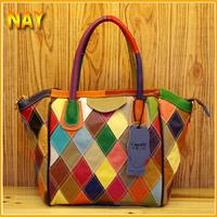 Women Messenger Bags New Fashion Designers Famous Brand Women Leather Handbags Shoulder Bags Colorful K357