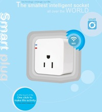 Electronic 2014 new US Smart plug WiFi Smartphone Remote control socket Wireless Switch for Anddroid And iPhone App