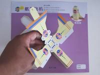 72PCS/Lot Fun handmade children origami paper model do not need cutting scissors /safty DIY 3d puzzle three-dimensiona