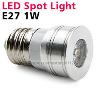 E27 1W LED Spot Light White LED Spotlight Bulb Energy Saving Lamp 85-265V