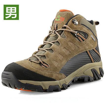 Kroten alpinisme chaussures haute chaussures de plein air imperméables pour hommes et chaud en hiver pour garder au chaud frais de voyage escalade chaussures(China (Mainland))