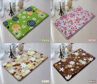 50*80cm home floor mat memory foam bedroom carpet room entrance mat free shipping